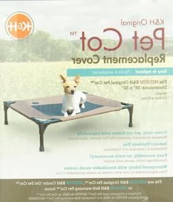KH Manufacturing Original Pet Cot Cover Medium Choc/Mesh 25-