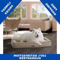 KIRKLAND SIGNATURE 30x40 ORTHOPEDIC BOLSTER DOG BED COOLING
