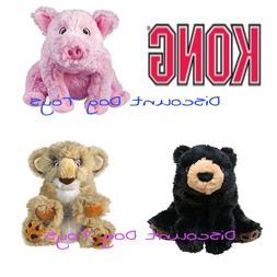 Kong Comfort Kiddos Plush Dog Puppy Toy bear lion pig small