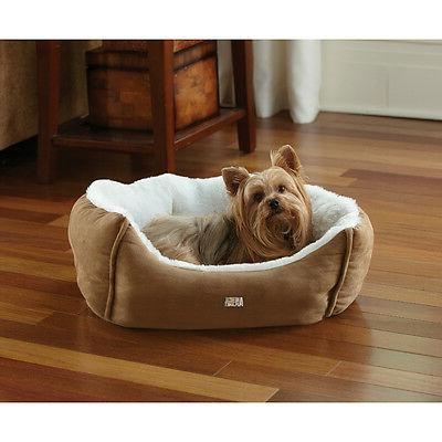 Animal Planet 1647715 Micro Suede Plush Pet Bed, Assorted Co