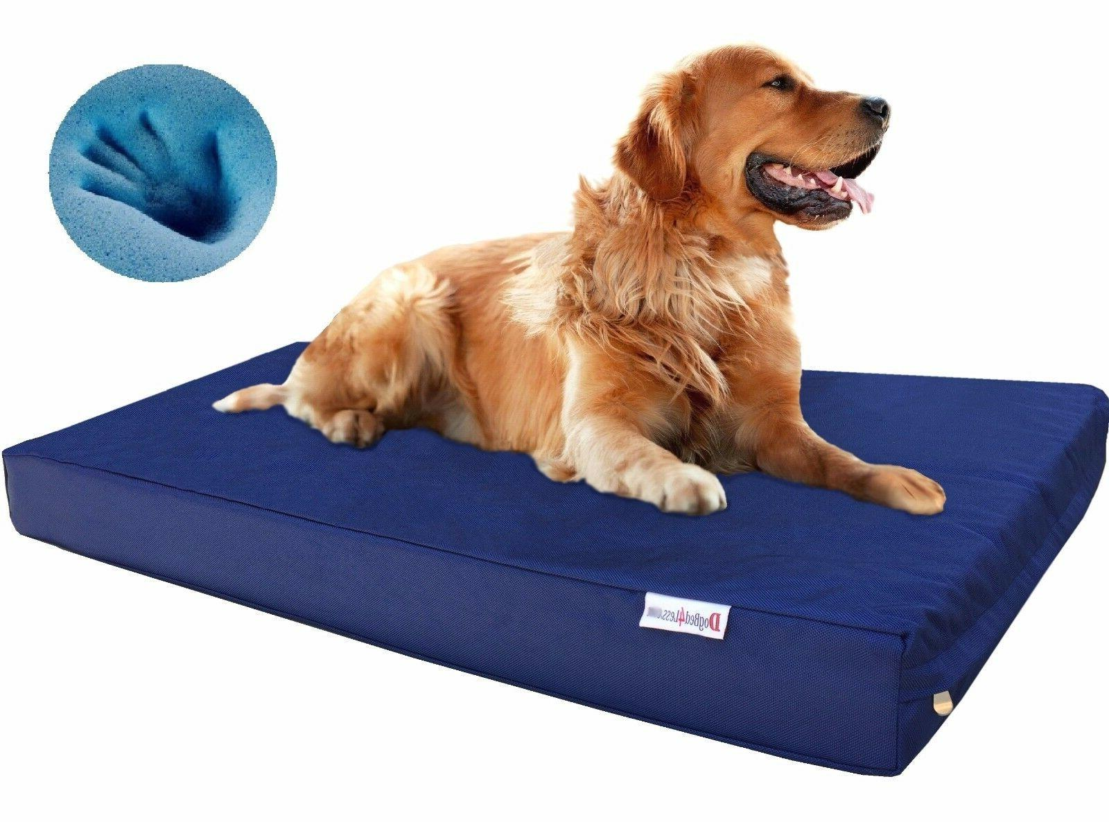1680 Ballistic Strong Waterproof Chew Resist Memory Foam Pet