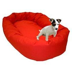 24 Red Bagel Bed By Majestic Pet Products