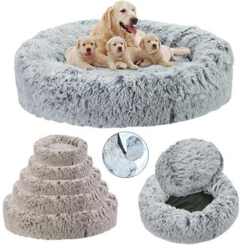 2xl xl large waterproof pet calming bed