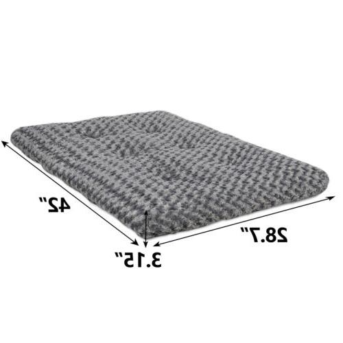 """42"""" Faux Cat Bed Machine Bottom"""