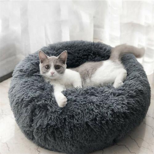 "46"" 24"" 20 Pet Dog Cat Bed Soft Bed Kennel Plush"