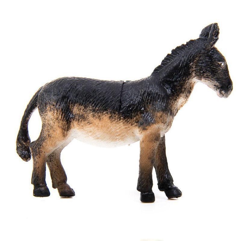 6Pcs Toy Action Pig Cow Horse