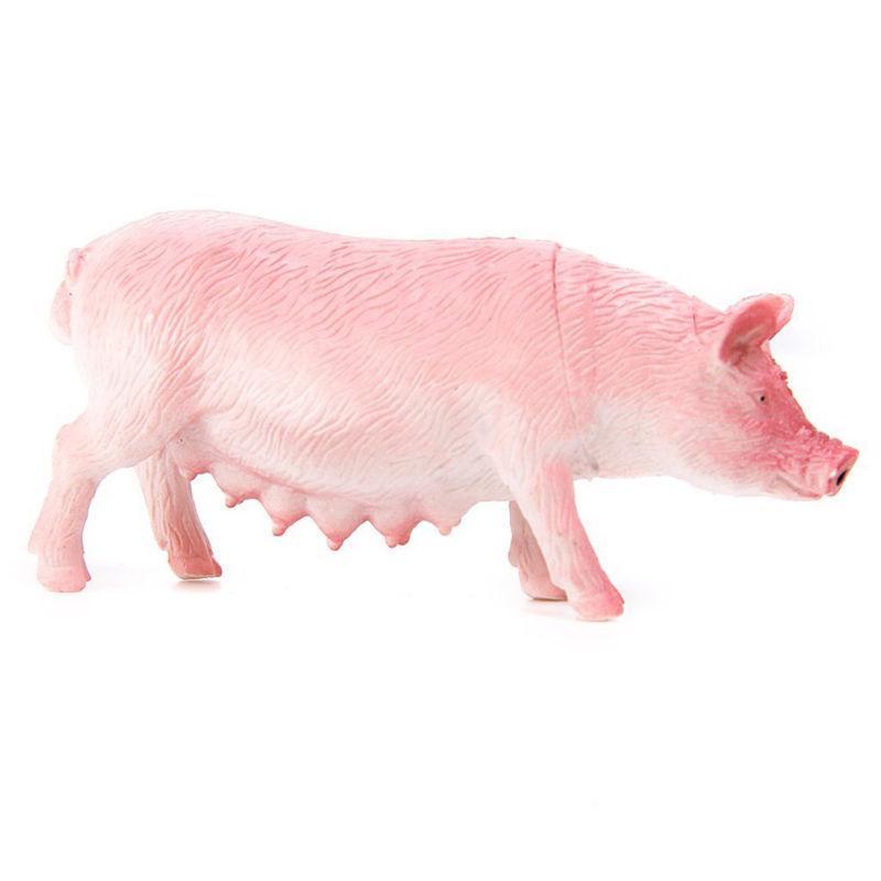 Action Farm Animals Pig Dog Horse