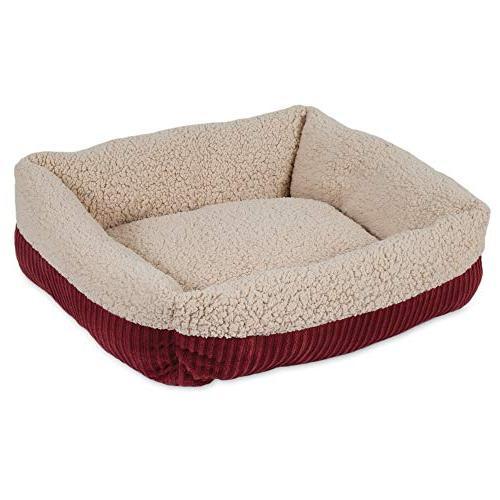 Aspen Corduroy Pet Bed Several Assorted