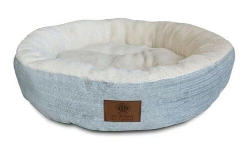 akc casablanca 21 round solid pet bed