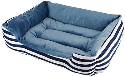"""HappyCare Textiles All Seasons Rectangle Pet Bed, 25"""" x 21"""","""
