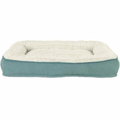 """Harmony Aqua Lounger Memory Foam Dog Bed, 40"""" L x 30"""" W"""