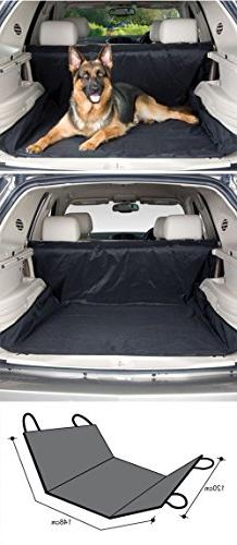 Black Dog Bed Liners Back Seat Cover Dust Dirt Protector Cov