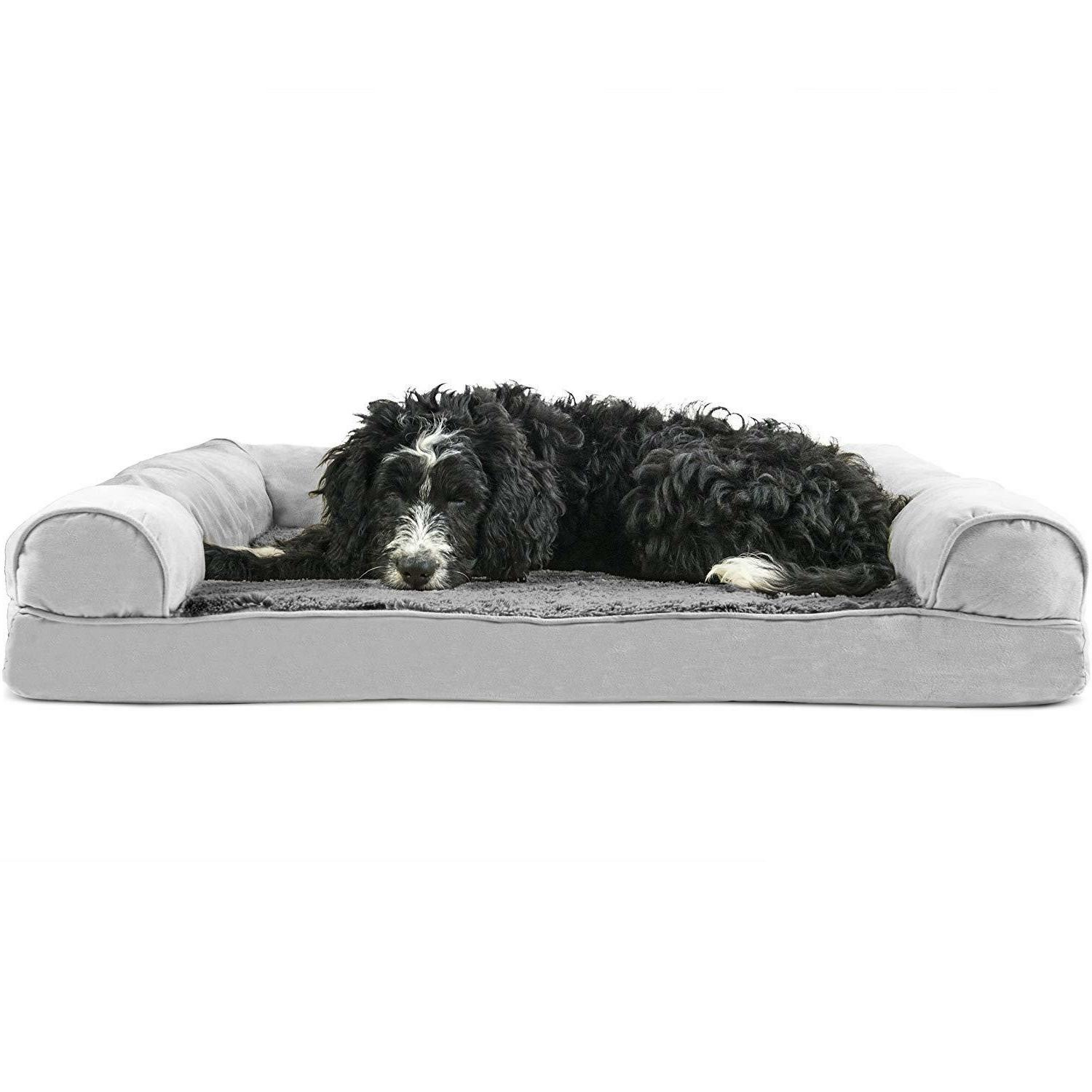 Big Dog Bed Sofa Pet Couch Furhaven Puppy Supplies Jumbo Ort