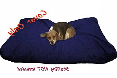 Dogbed4less Large cotton Bed External zipper Cover - cover