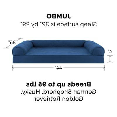 Brand New FurHaven Quilted Sofa Bed for Dogs Cats, Navy