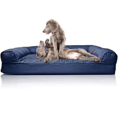 Brand New Quilted Orthopedic Bed for Cats, Navy