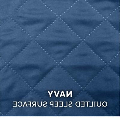 Brand New Jumbo Quilted Bed for Dogs and Cats, Navy