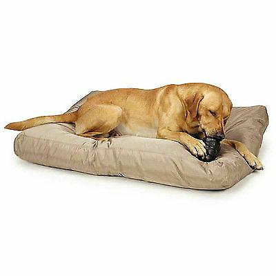 CHEW RESISTANT TOUGH DOG BEDS Reinforced Ripstop Tan