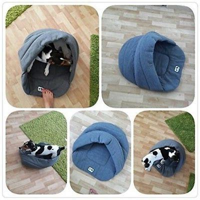 Cozy Dog House Kennel Puppy Sleeping Bed Mat Warm