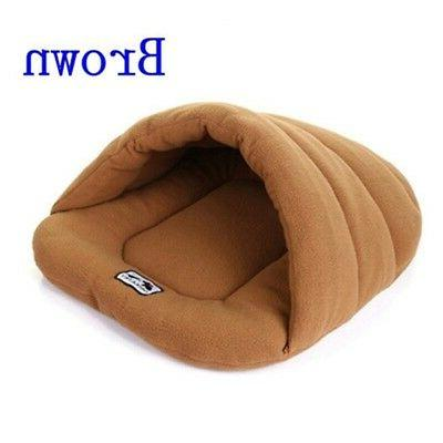 Cozy Pet House Kennel Puppy Cave Sleeping Mat Pad Warm Nest
