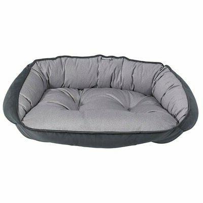 crescent pet bed