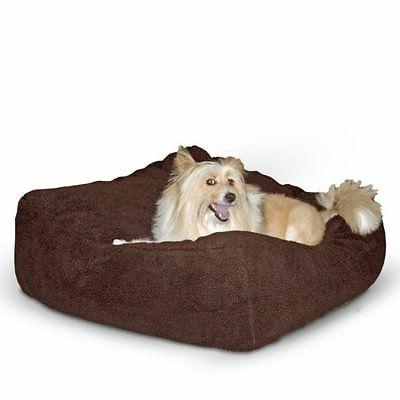 cuddle cube dog pillow l