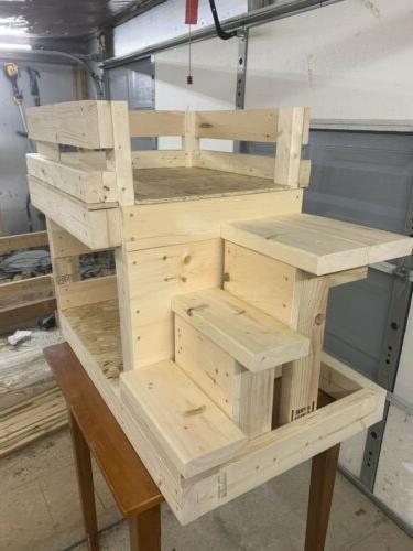 Custom dog bunk bed Pet Area House