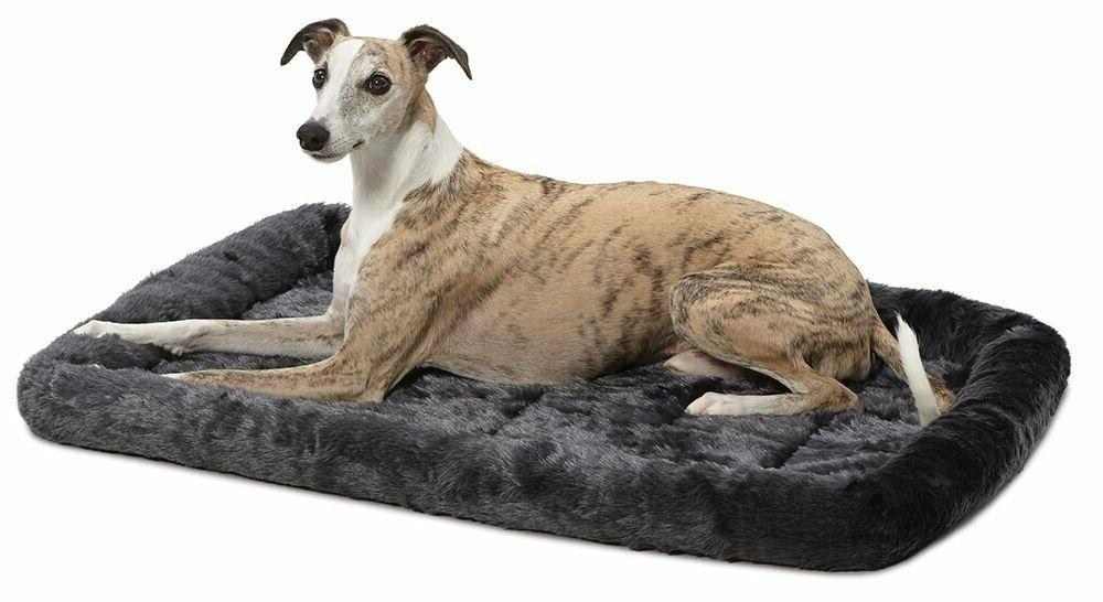 Deluxe Bolster Pet Soft Bed Large Dogs In Crates