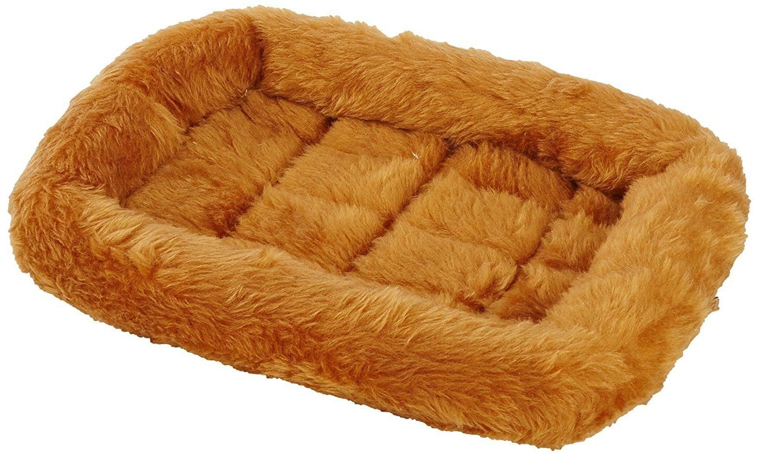 Deluxe Bolster Pet Ultra Soft Bed Small Large In