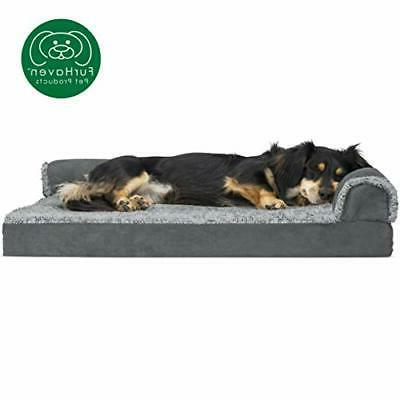 deluxe orthopedic chaise couch bed