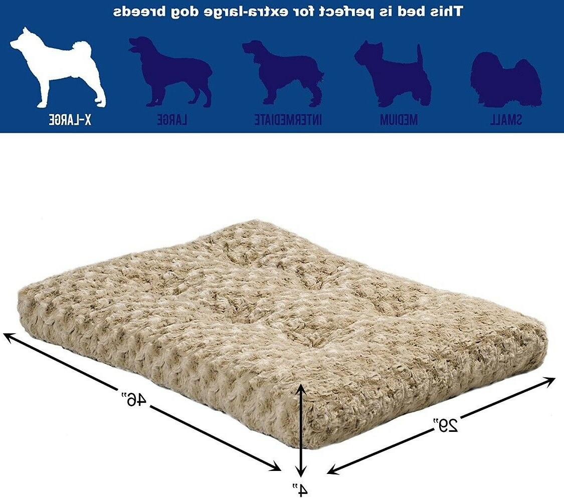 MidWest Homes for Pets Beds,48-Inch,Mocha