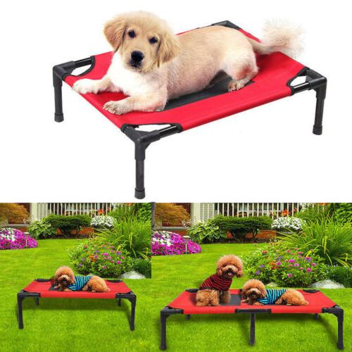 Detachable Assembly Petcomer Dog Pet Cat Elevated Camping Be