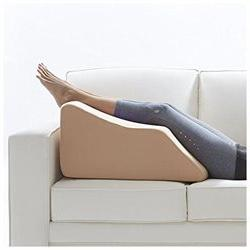 Lounge Doctor Leg Rest With Memory Foam and Cover Cappuccino
