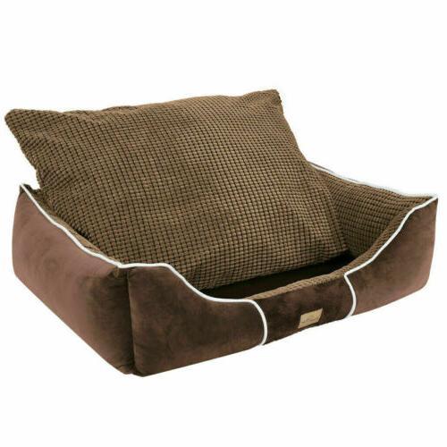 Dog Bed Large Medium Cushion House Waterproof Beds