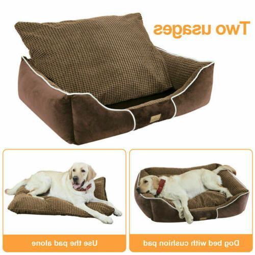 Dog Bed Large Medium Pet House Beds