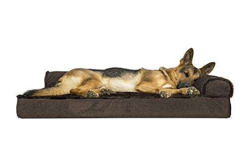 dog bed deluxe orthopedic plush