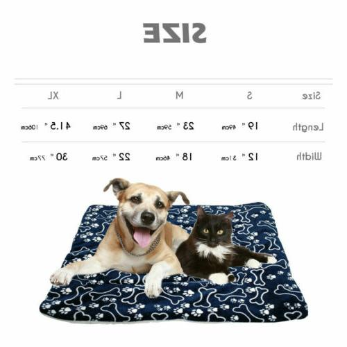 Dog Cushion Waterproof Double Sided Puppy Pet Pillow Mat
