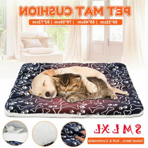 dog bed mattress cushion waterproof washable double