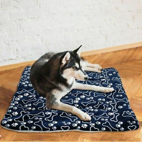 Dog Mattress Waterproof Washable Double Puppy Pillow Mat