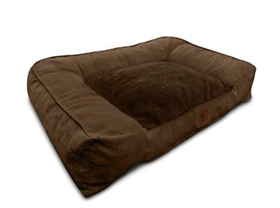 dog bed ultra plush with memory foam