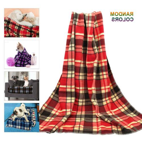 Dog Blankets for Small dogs Soft Fleece Pet Puppy Bed Mat So