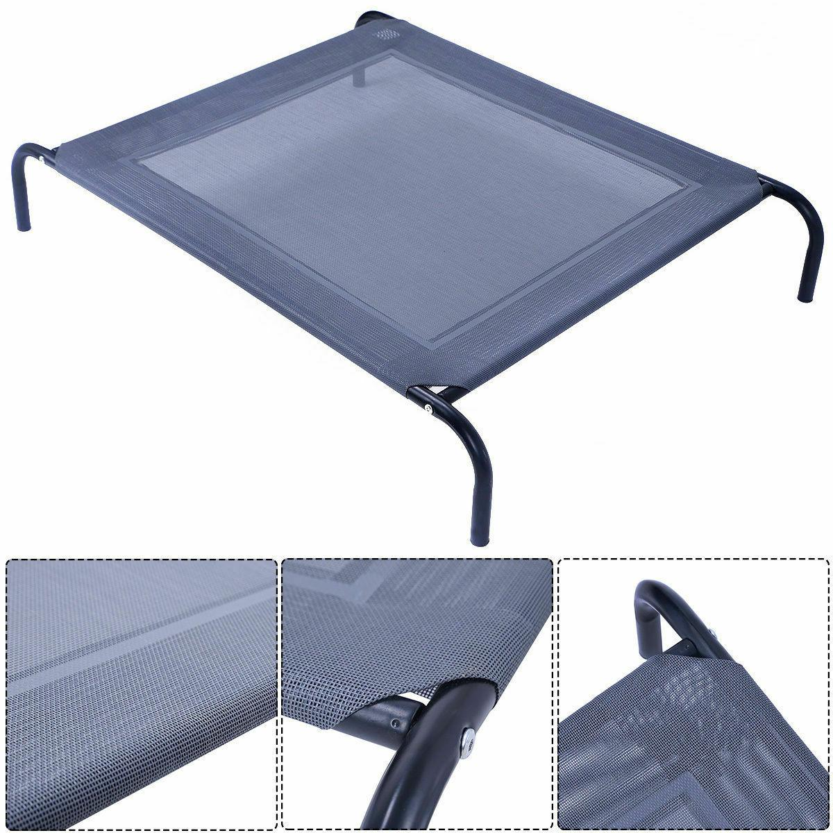 New Large Dog Cat Bed Elevated Pet Cot Indoor Outdoor Campin
