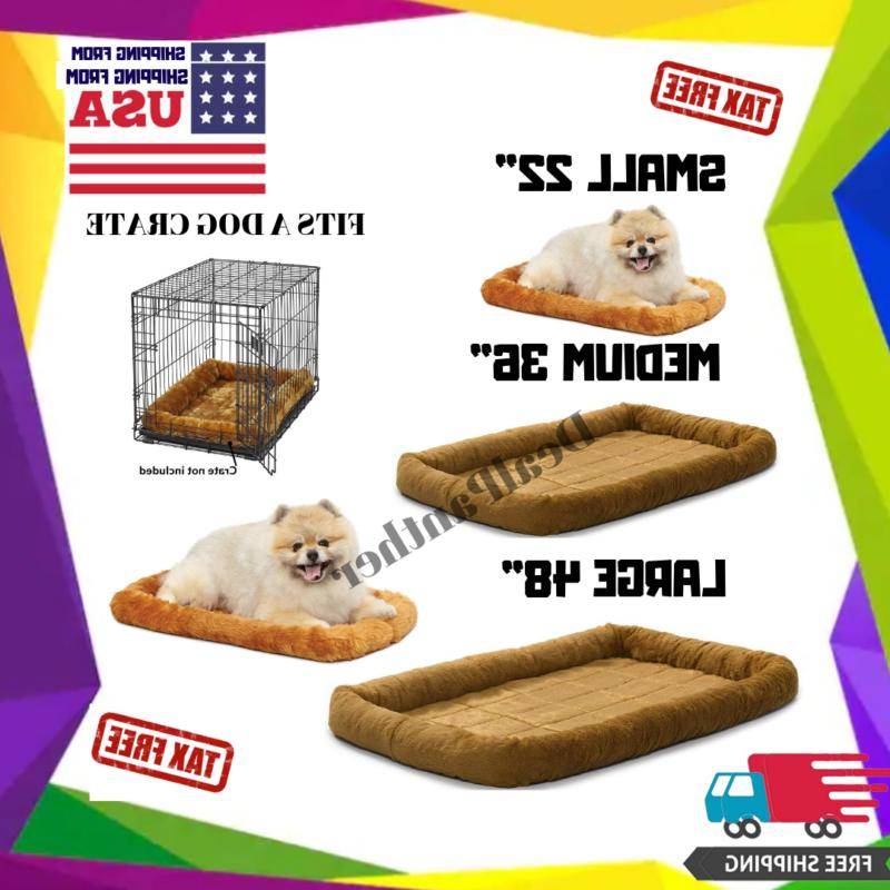 Dog/Cat Bed X Large Big/Medium/Small Luxury Sofa For Crate/H