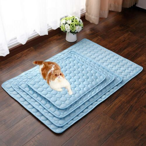 Dog Mat Cat Cool Bed Cushion Indoor