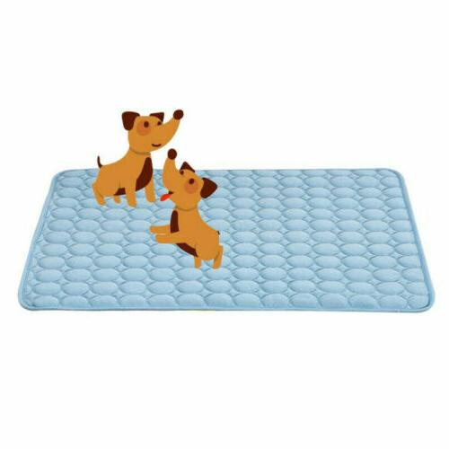 Dog Cooling Mat Cat Cool Bed Pad Indoor US