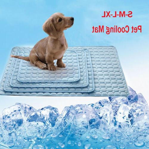Dog Cooling Mat Cat Cool Cushion Indoor