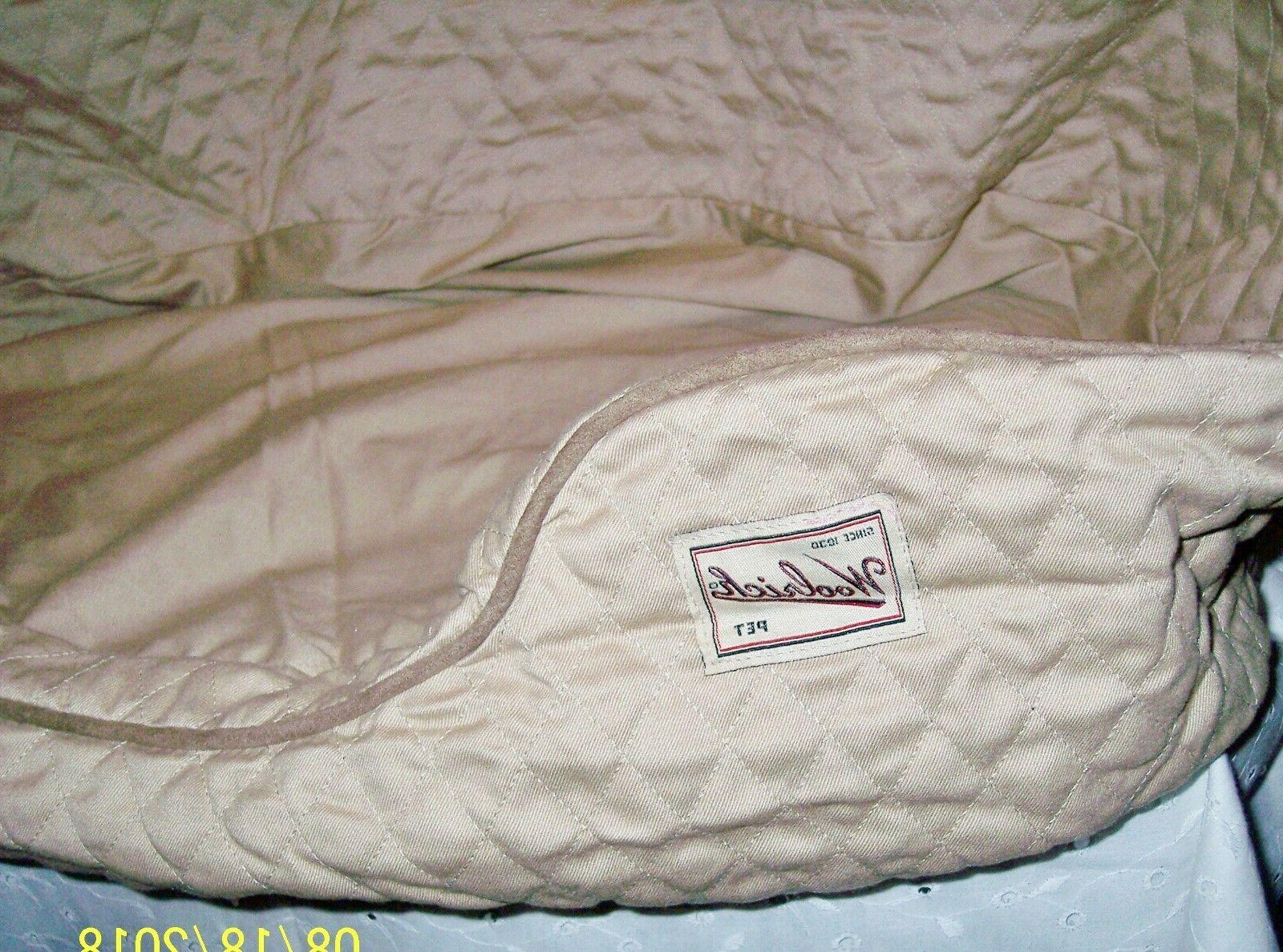 DOG NESTING BED COZY BY OR KHAKI COLOR
