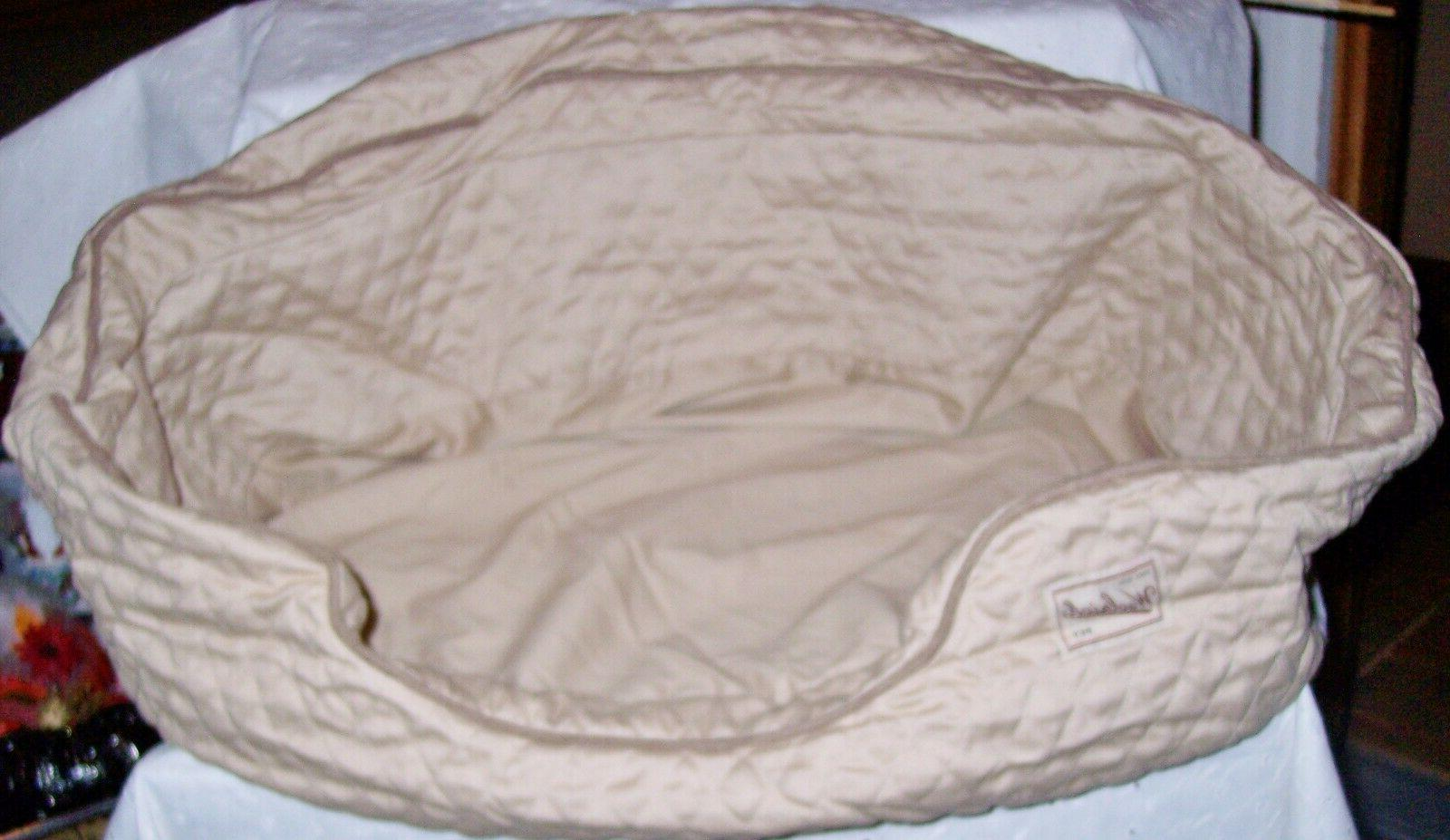 dog nesting bed cozy by zipper you