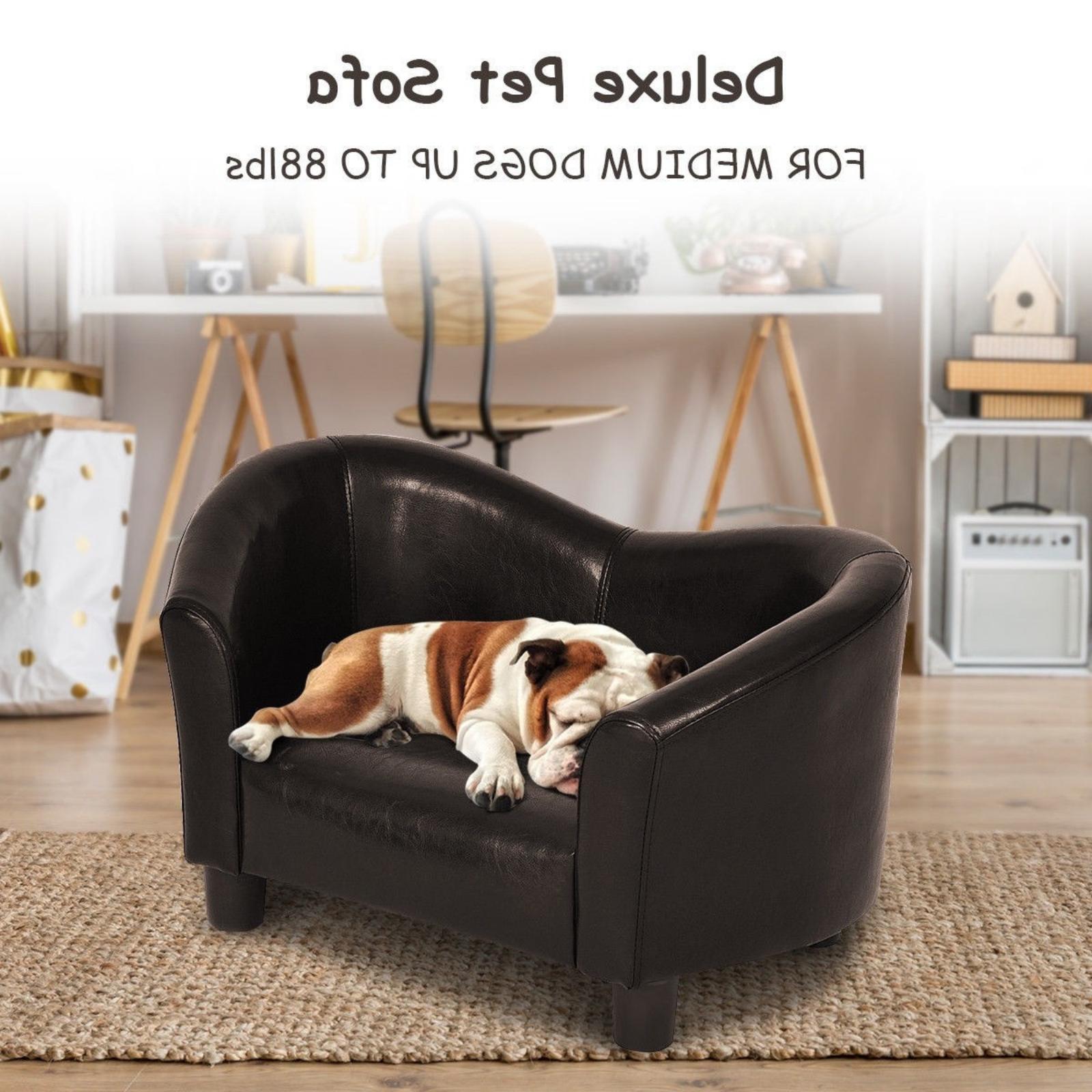 Dog Sofa Bed Comfort Stylish Dog Sofa Couch Elevated Raised