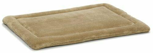 Dog Supplies Quiet Time Deluxe Micro Terry Bed Taupe 40 X 27